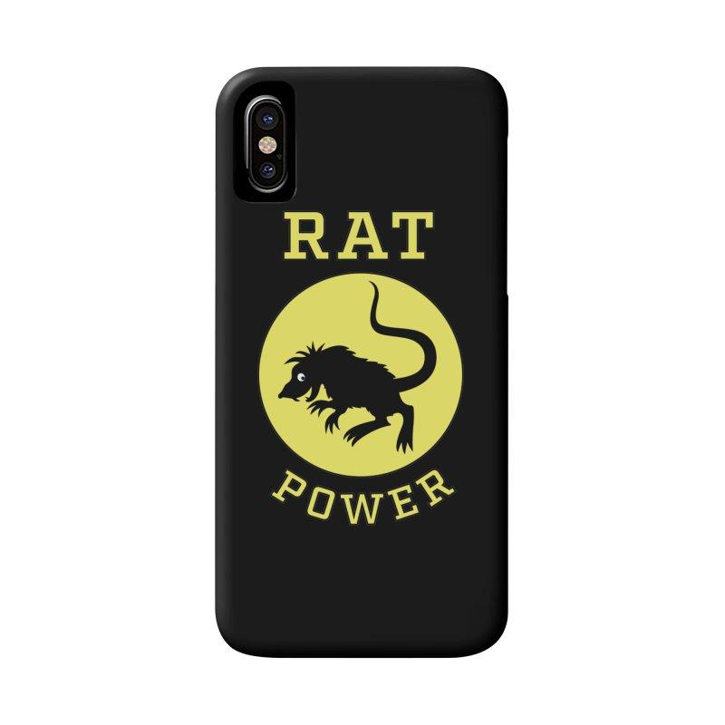 RAT POWER Accessories Phone Case by CAT IN ORBIT Artist Shop