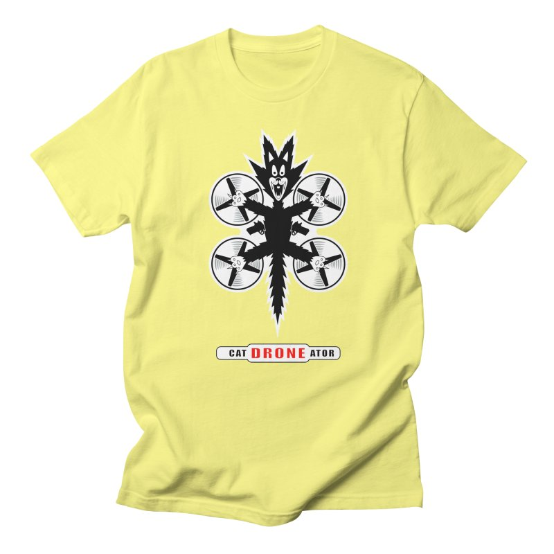 CAT-DRONE-ATOR Men's T-Shirt by CAT IN ORBIT Artist Shop