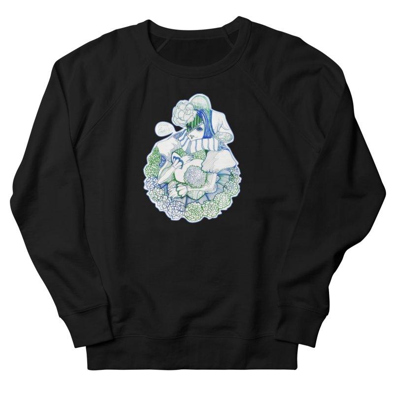 Mask Series. Feeling Blue Women's Sweatshirt by catiworks's Artist Shop
