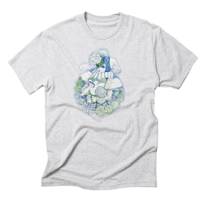 Mask Series. Feeling Blue Men's T-Shirt by catiworks's Artist Shop