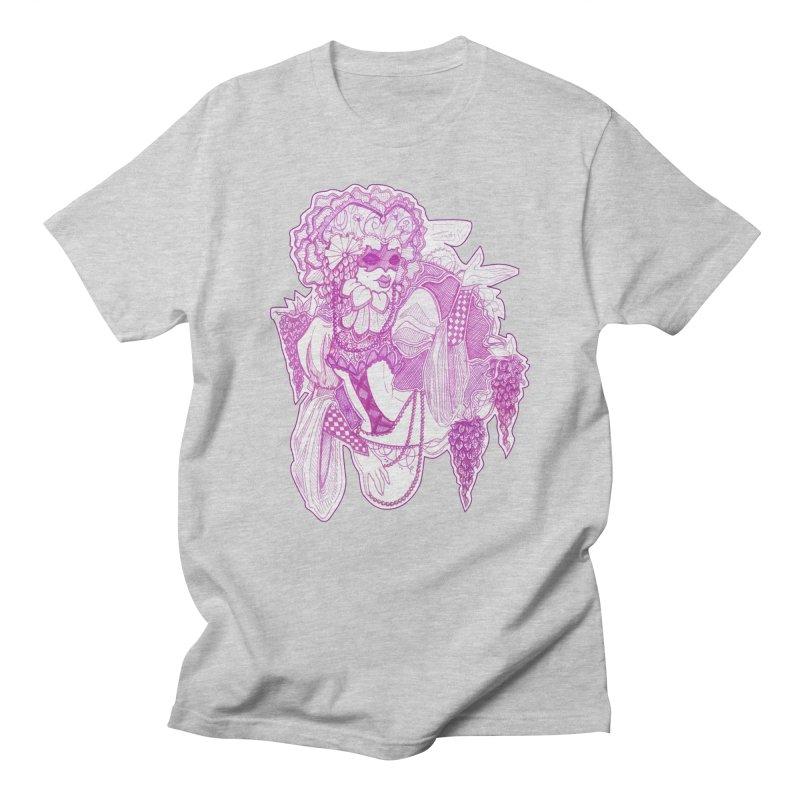 Violet Masked Blossom Men's T-Shirt by catiworks's Artist Shop