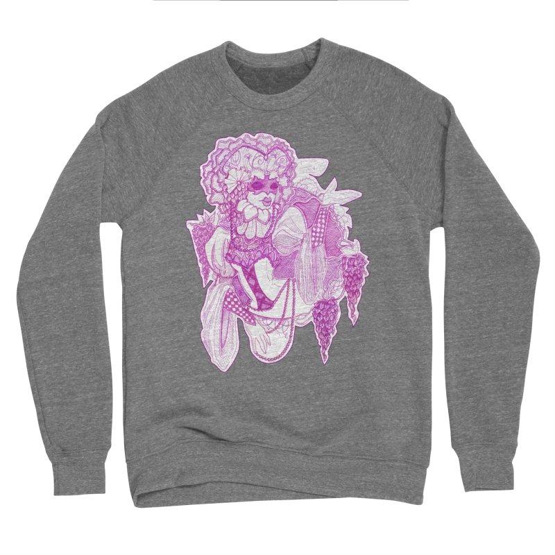 Violet Masked Blossom Men's Sweatshirt by catiworks's Artist Shop