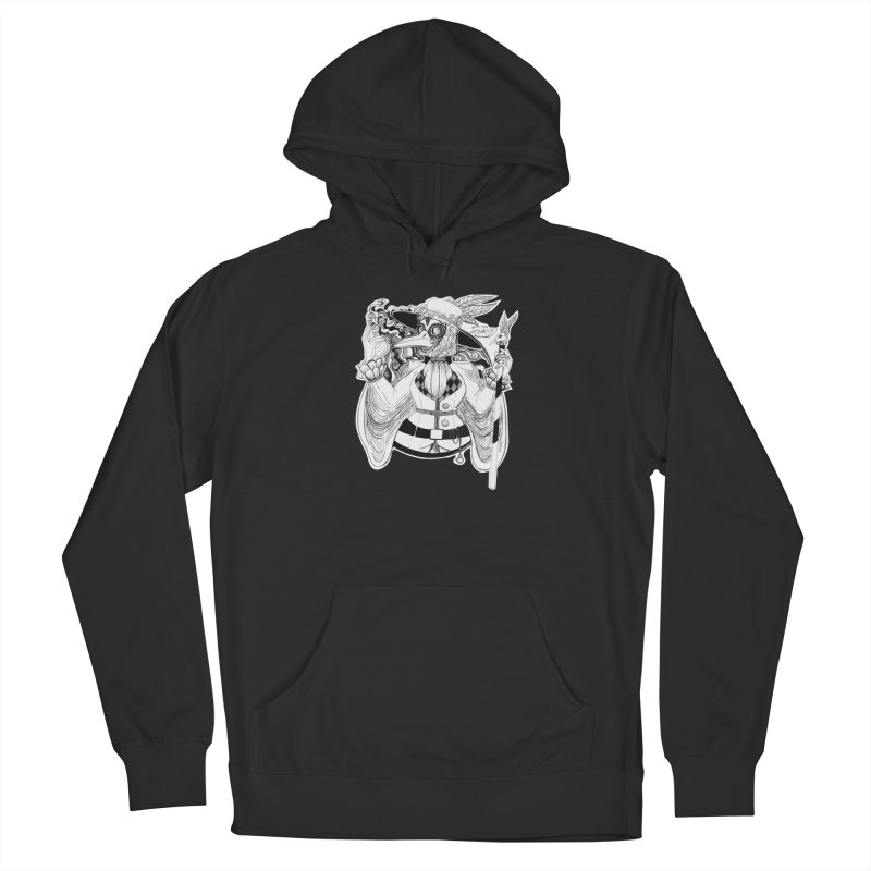 Masked Plague Doctor Men's Pullover Hoody by catiworks's Artist Shop