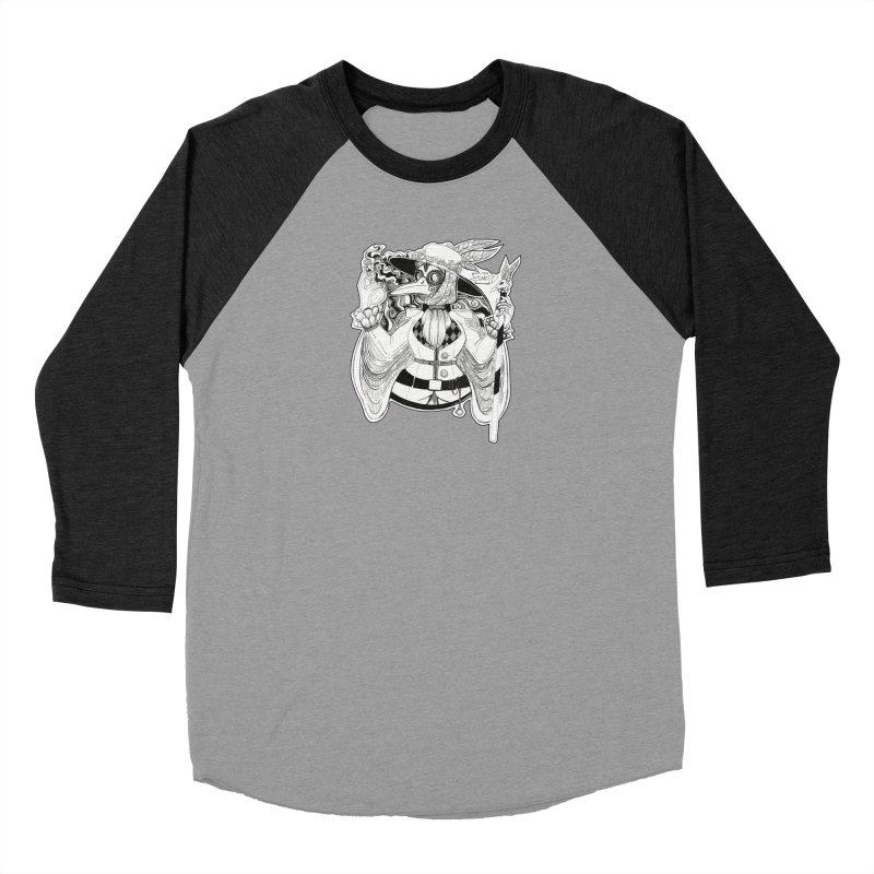 Masked Plague Doctor Men's Longsleeve T-Shirt by catiworks's Artist Shop