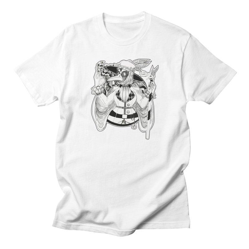 Masked Plague Doctor Men's T-Shirt by catiworks's Artist Shop