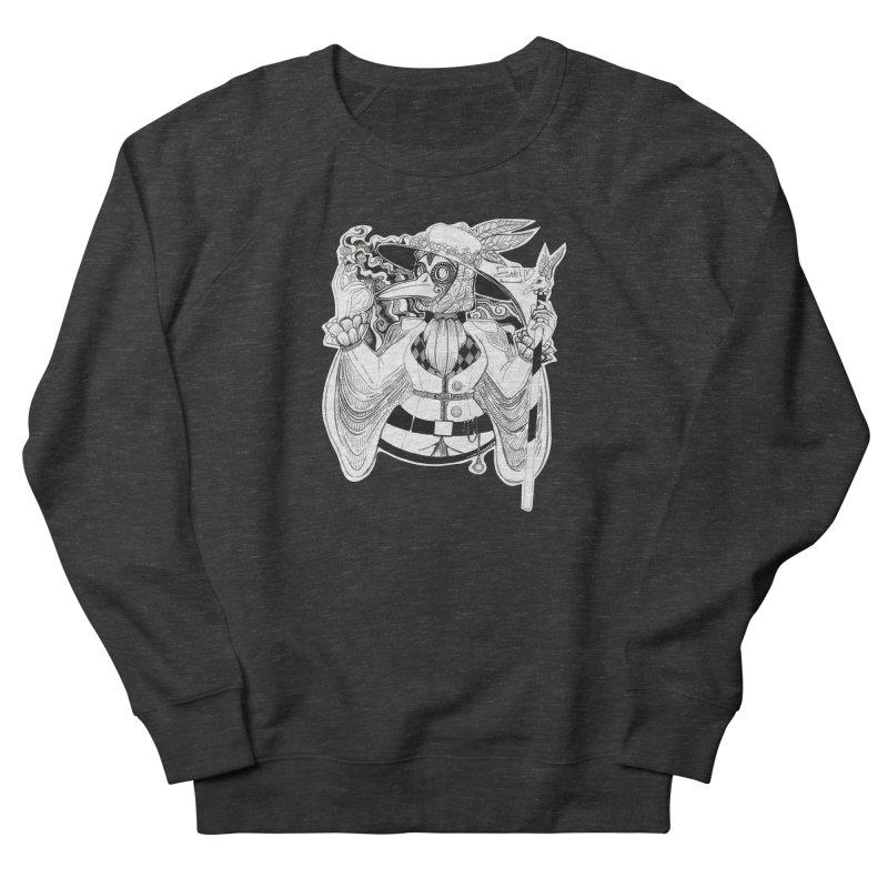 Masked Plague Doctor Men's Sweatshirt by catiworks's Artist Shop