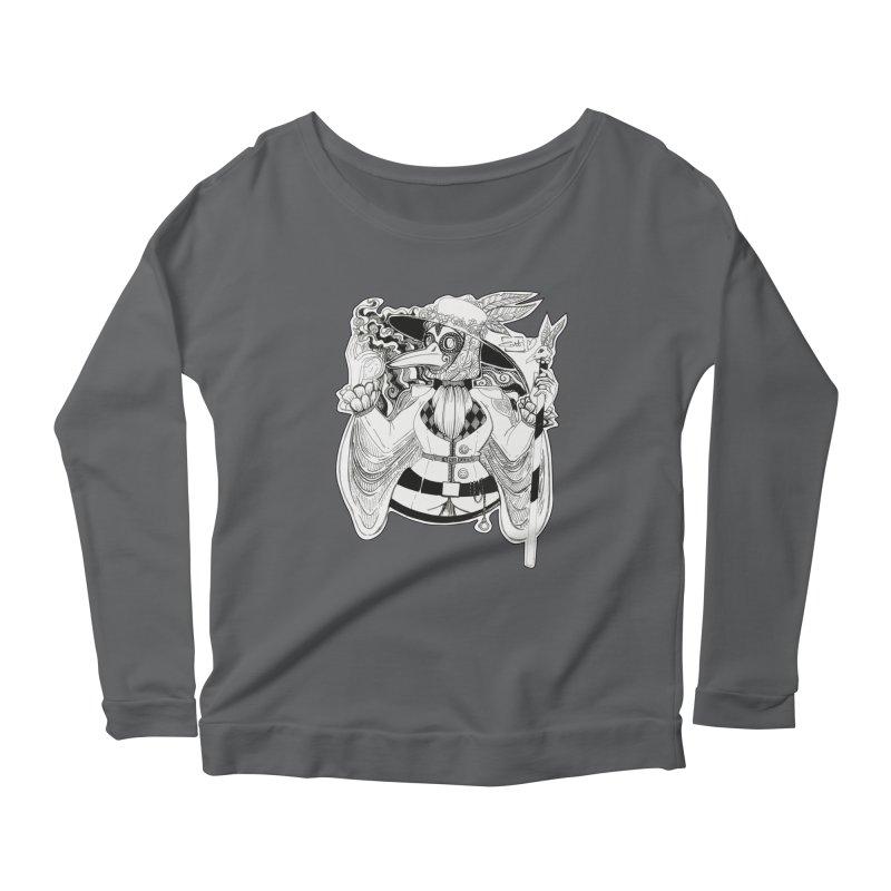 Masked Plague Doctor Women's Longsleeve T-Shirt by catiworks's Artist Shop