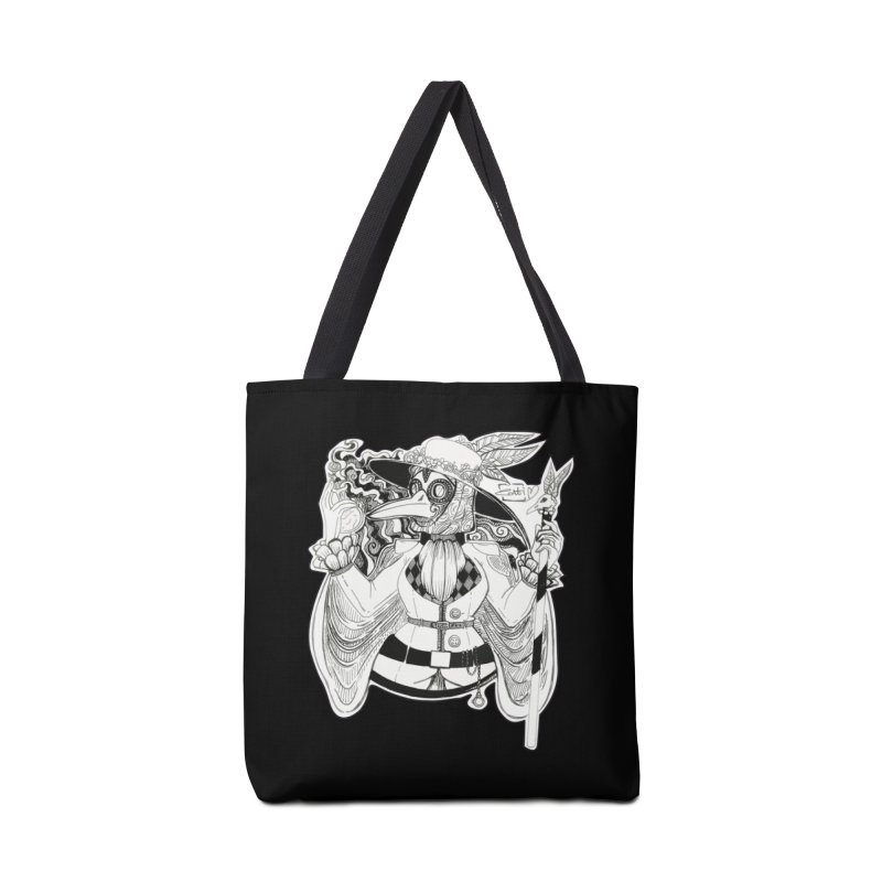 Masked Plague Doctor Accessories Bag by catiworks's Artist Shop