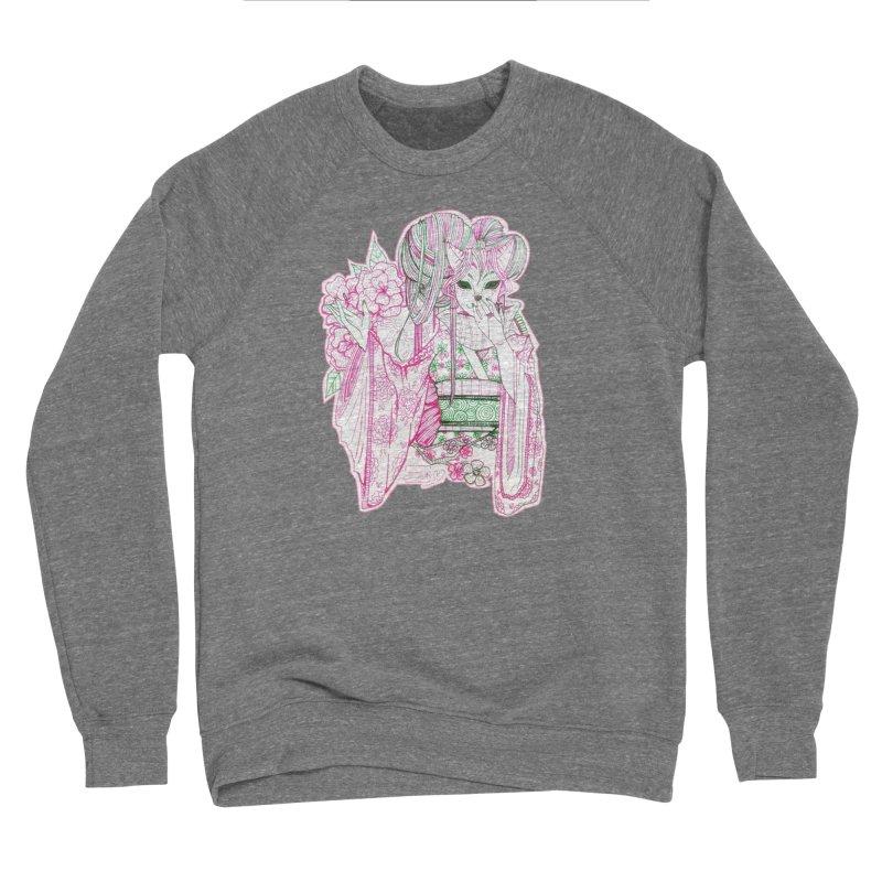 Masked Sakura Blossom Men's Sweatshirt by catiworks's Artist Shop