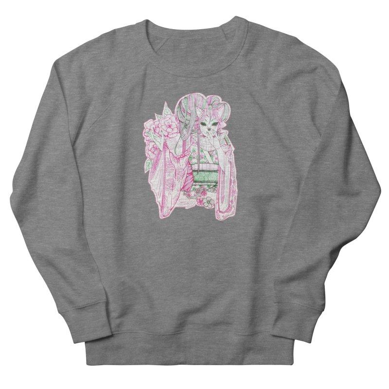 Masked Sakura Blossom Women's Sweatshirt by catiworks's Artist Shop