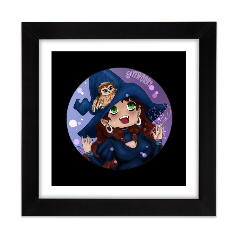 Cati's Halloween Special Home Framed Fine Art Print by catiworks's Artist Shop