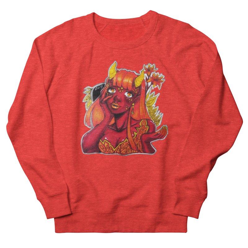 Red Orange Yellow Demon Men's Sweatshirt by catiworks's Artist Shop