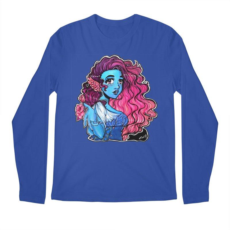 Air Goddess . Huevember Men's Longsleeve T-Shirt by catiworks's Artist Shop