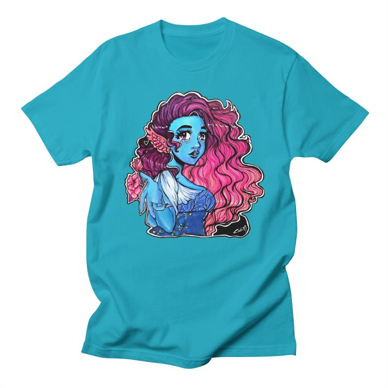 Air Goddess . Huevember Men's T-Shirt by catiworks's Artist Shop