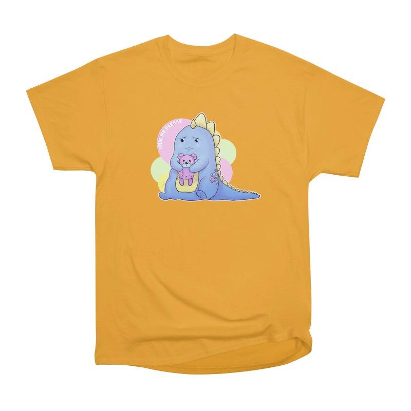 Sad Dino - Hug me Please Men's T-Shirt by catiworks's Artist Shop