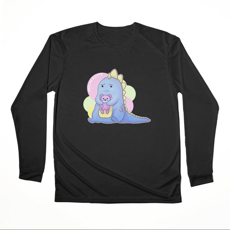 Sad Dino - Hug me Please Men's Longsleeve T-Shirt by catiworks's Artist Shop