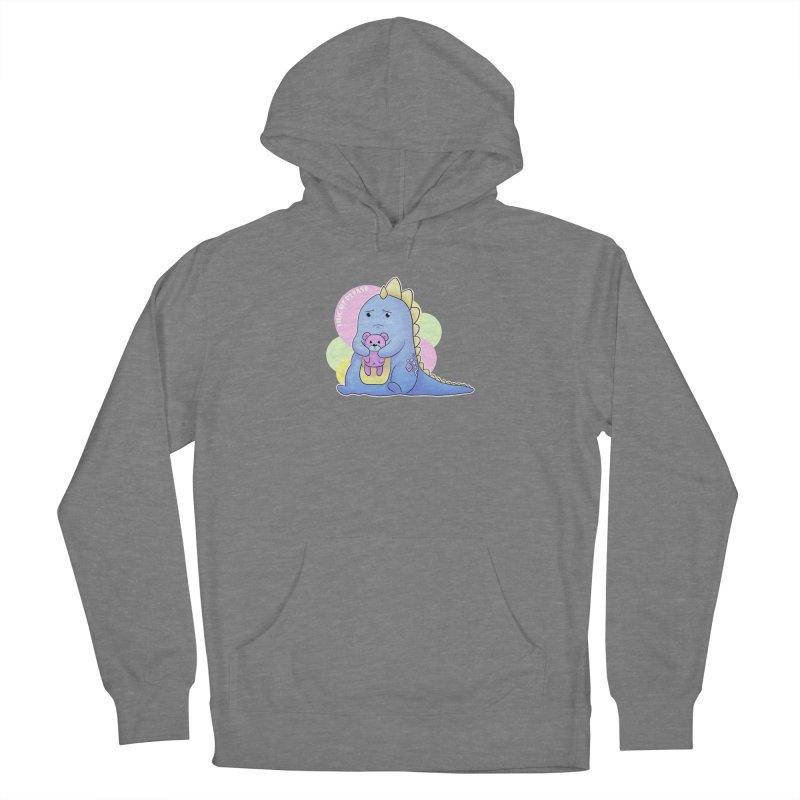 Sad Dino - Hug me Please Women's Pullover Hoody by catiworks's Artist Shop