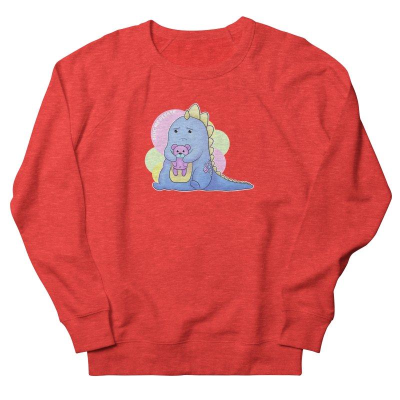 Sad Dino - Hug me Please Women's Sweatshirt by catiworks's Artist Shop