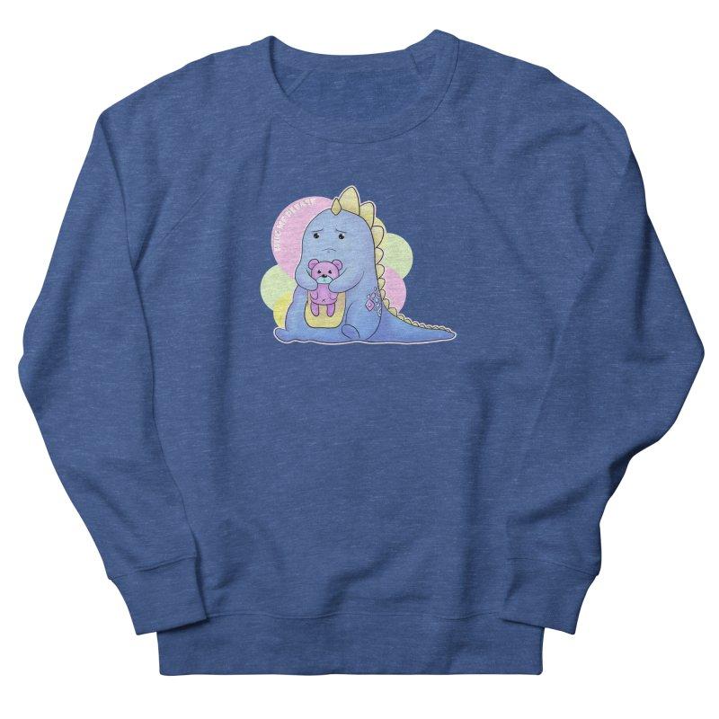 Sad Dino - Hug me Please Men's Sweatshirt by catiworks's Artist Shop