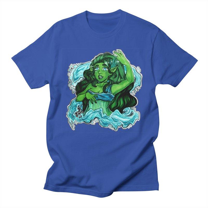 Water Bending Goddess Women's T-Shirt by catiworks's Artist Shop