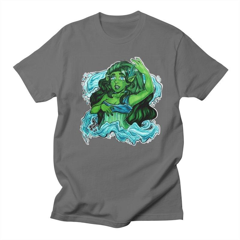 Water Bending Goddess Men's T-Shirt by catiworks's Artist Shop