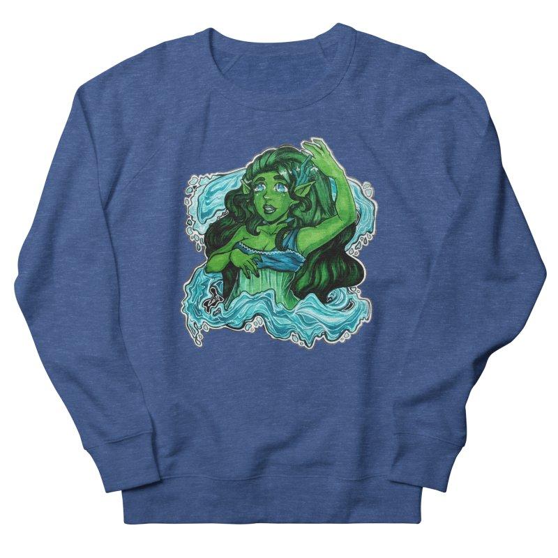 Water Bending Goddess Men's Sweatshirt by catiworks's Artist Shop