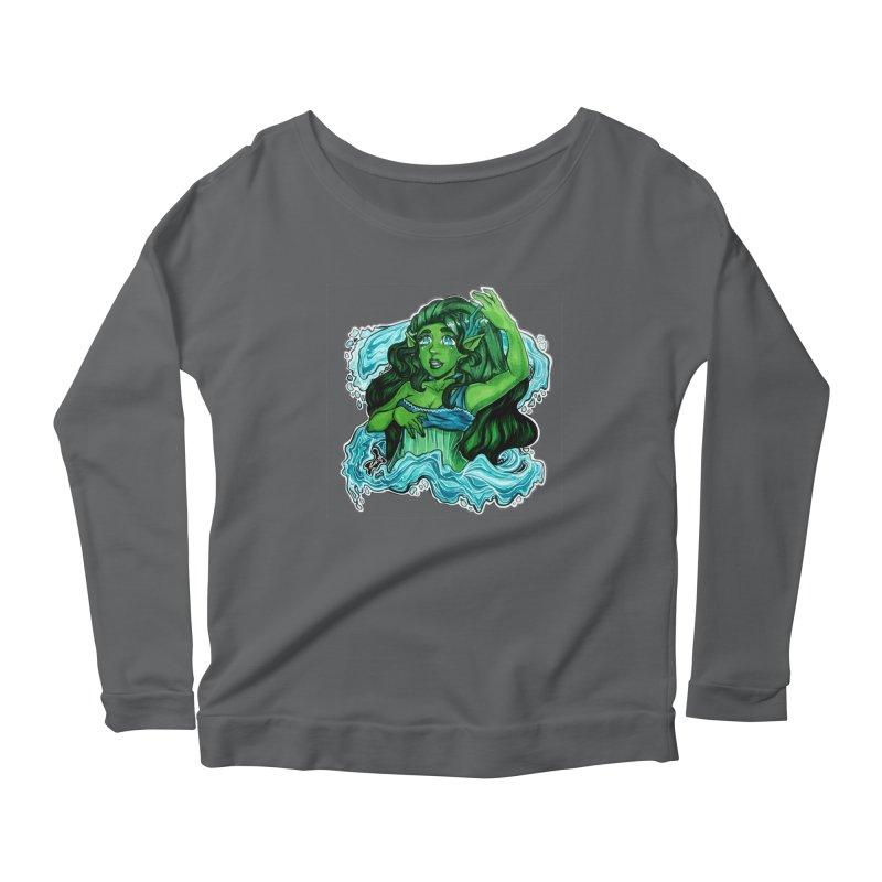 Water Bending Goddess Women's Longsleeve T-Shirt by catiworks's Artist Shop