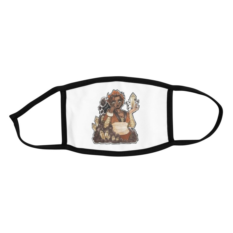 Rock Bending Diva Accessories Face Mask by catiworks's Artist Shop