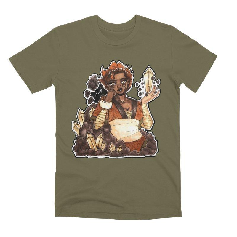 Rock Bending Diva Men's T-Shirt by catiworks's Artist Shop