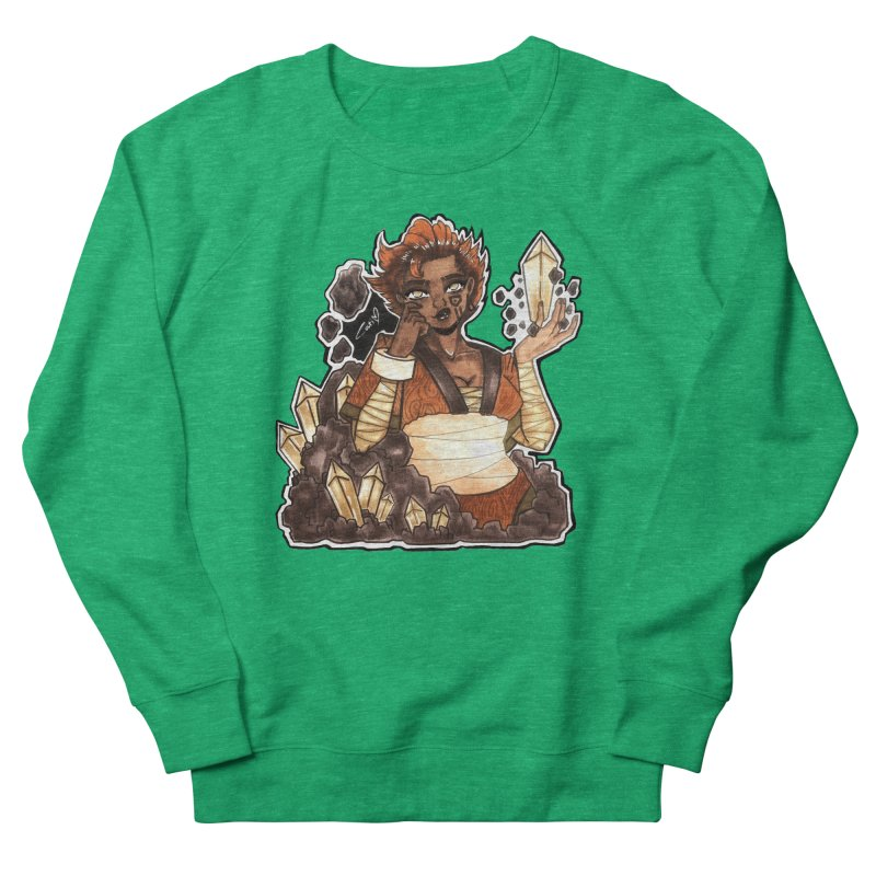 Rock Bending Diva Women's Sweatshirt by catiworks's Artist Shop