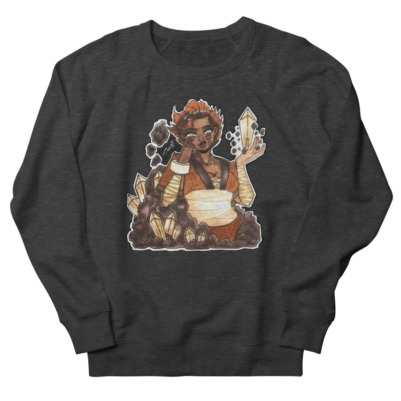 Rock Bending Diva Men's Sweatshirt by catiworks's Artist Shop