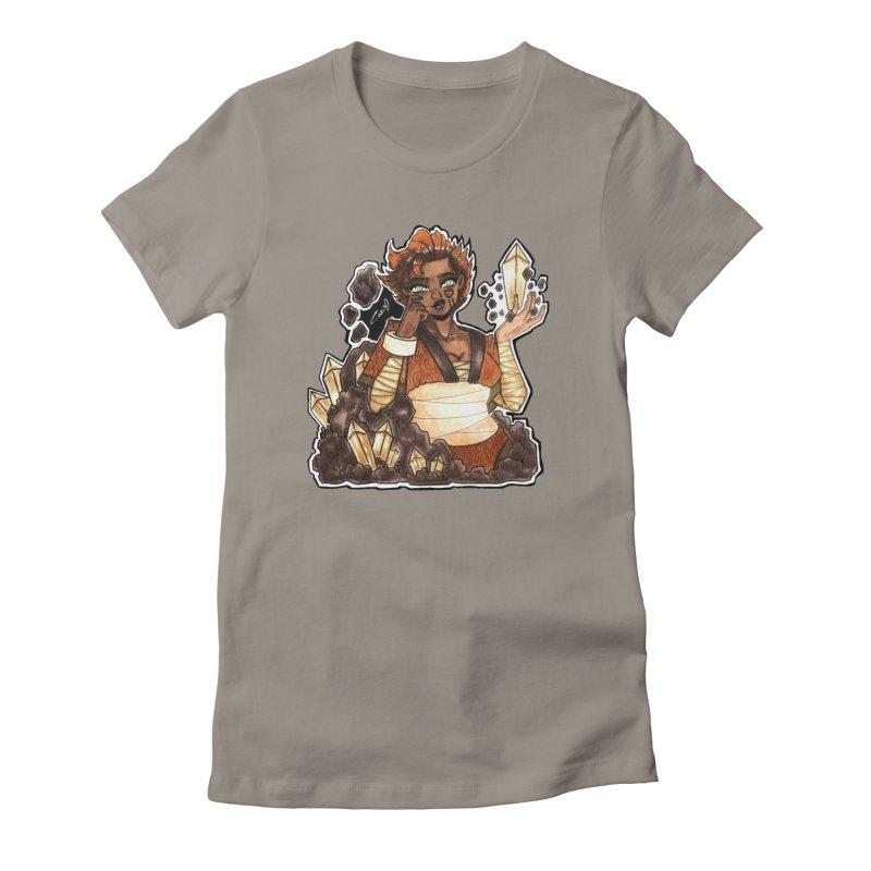 Rock Bending Diva Women's T-Shirt by catiworks's Artist Shop