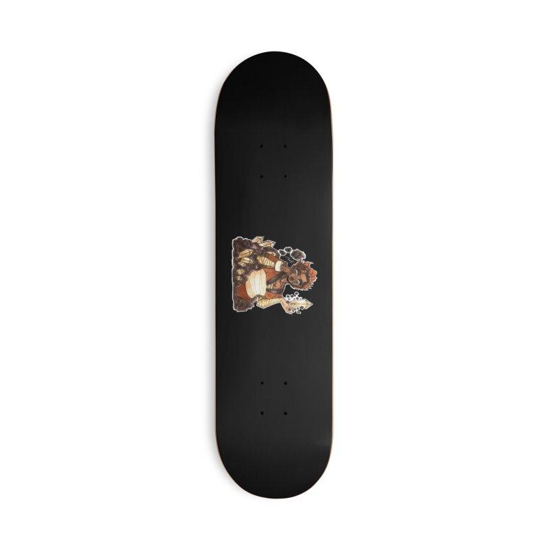Rock Bending Diva Accessories Skateboard by catiworks's Artist Shop