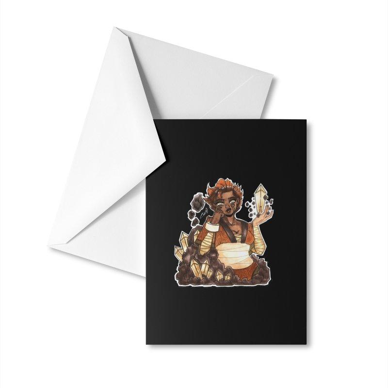 Rock Bending Diva Accessories Greeting Card by catiworks's Artist Shop
