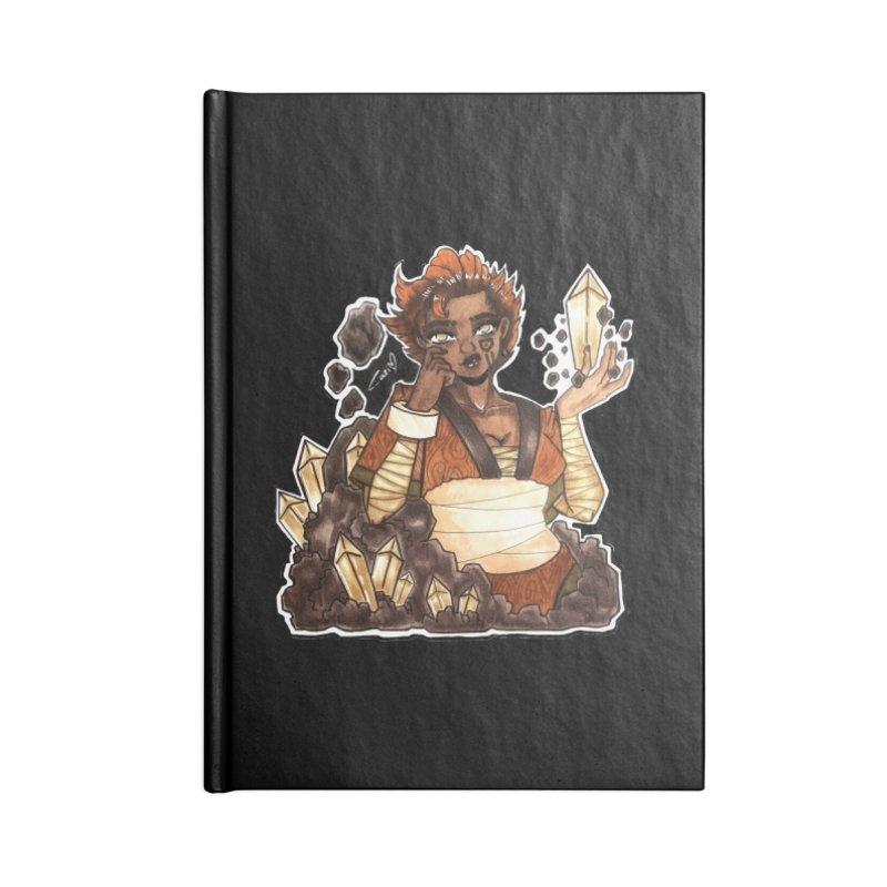 Rock Bending Diva Accessories Notebook by catiworks's Artist Shop