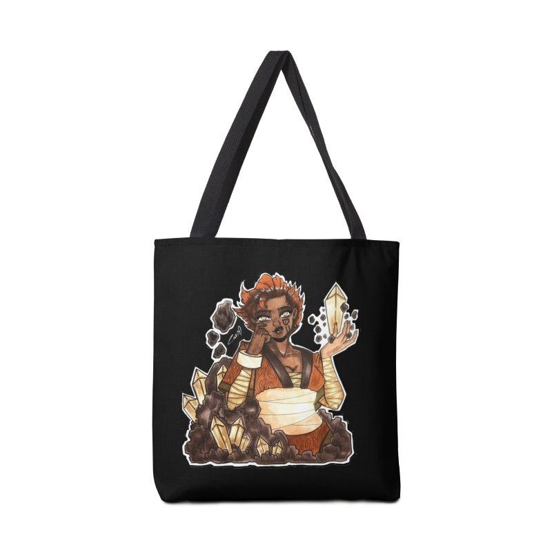 Rock Bending Diva Accessories Bag by catiworks's Artist Shop