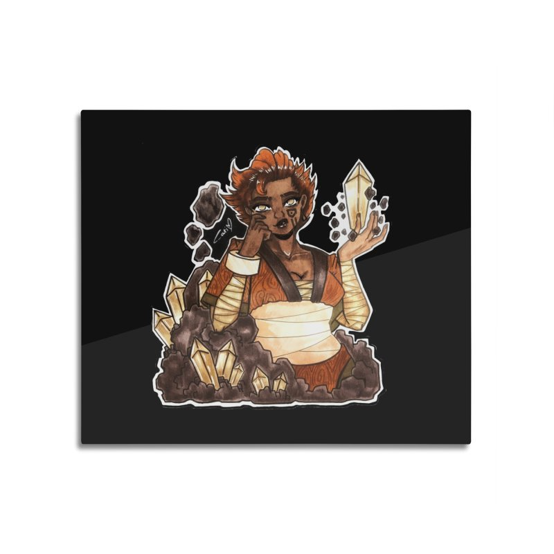 Rock Bending Diva Home Mounted Acrylic Print by catiworks's Artist Shop