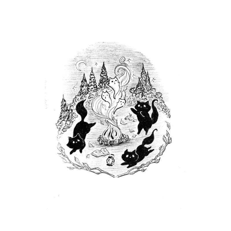 Campfire Tales Men's T-Shirt by catmallard's Artist Shop