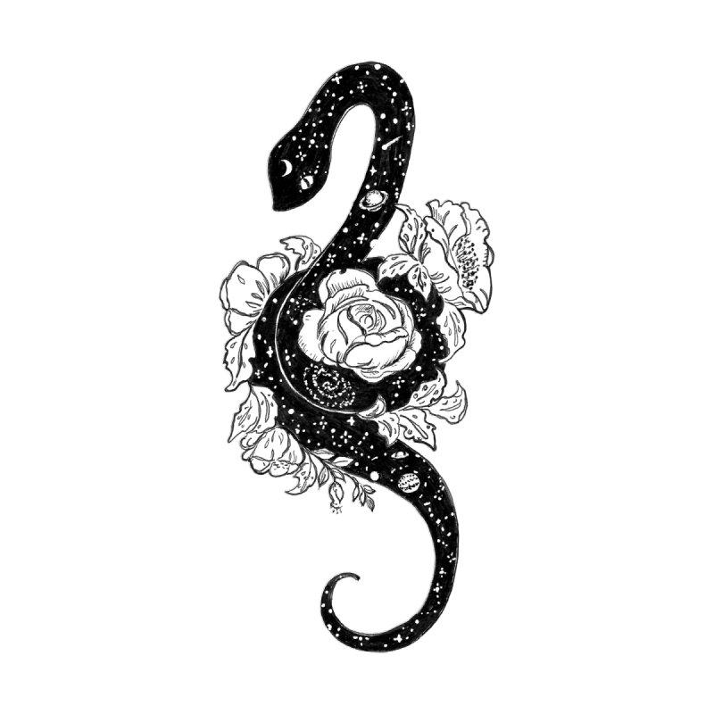 Cosmic Snake Accessories Bag by catmallard's Artist Shop