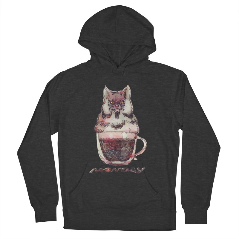 Monday Coffee Women's Pullover Hoody by Catopathy