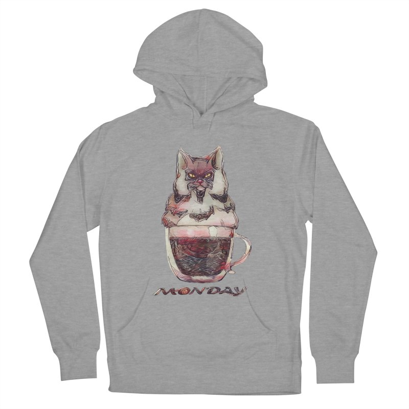 Monday Coffee Men's Pullover Hoody by Catopathy