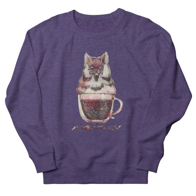 Monday Coffee Women's Sweatshirt by Catopathy