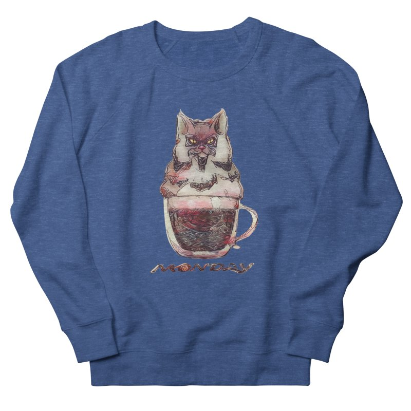 Monday Coffee Men's Sweatshirt by Catopathy