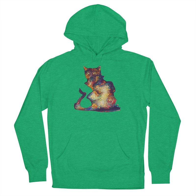 Bright and artsy Women's Pullover Hoody by Catopathy
