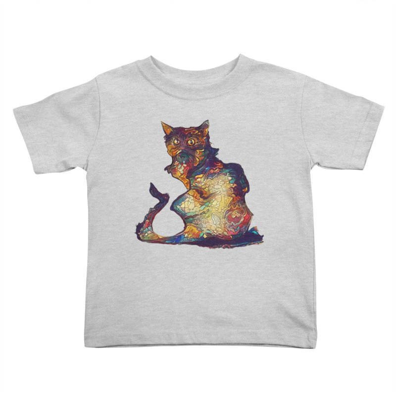 Bright and artsy Kids Toddler T-Shirt by Catopathy