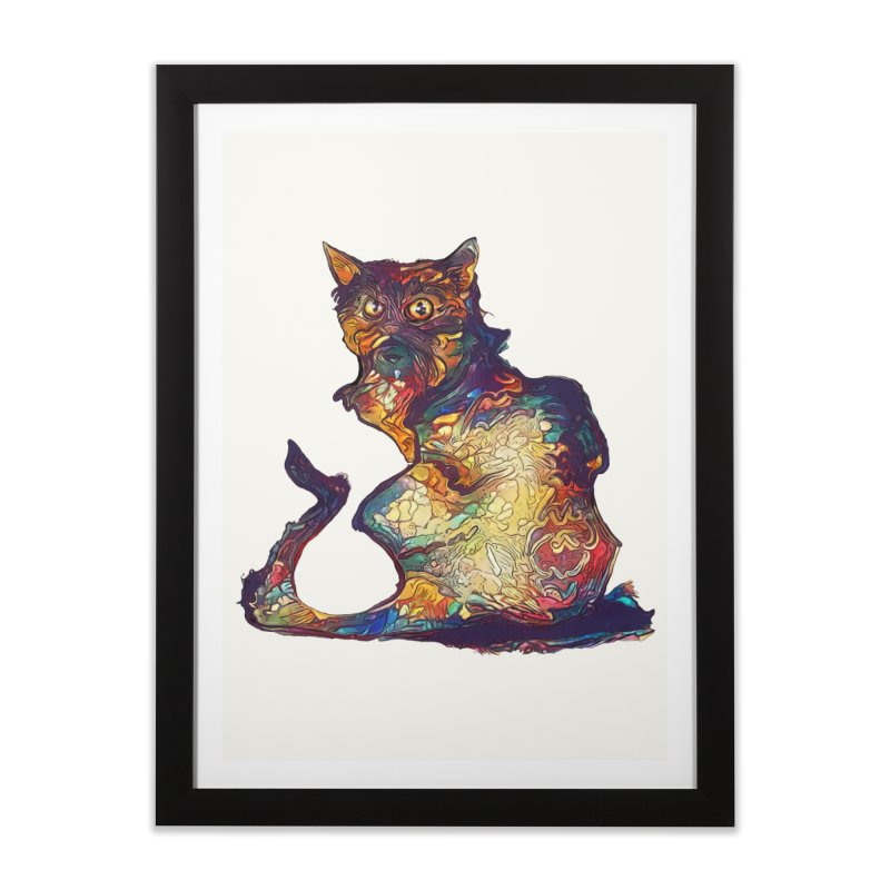 Bright and artsy Home Framed Fine Art Print by Catopathy