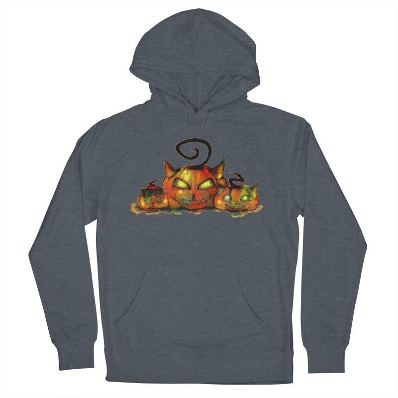 Halloween Men's Pullover Hoody by Catopathy