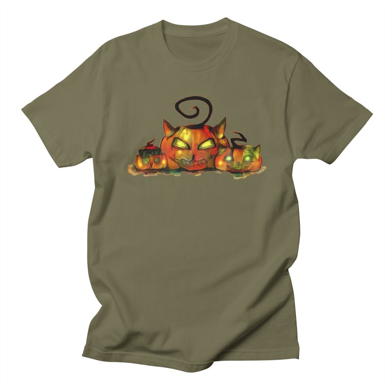 Halloween Men's T-shirt by Catopathy