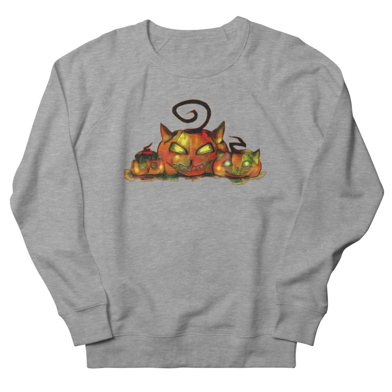 Halloween Women's Sweatshirt by Catopathy
