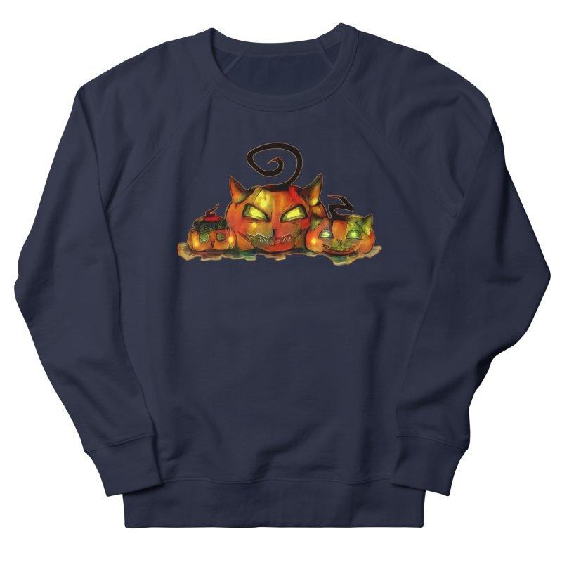 Halloween Men's Sweatshirt by Catopathy